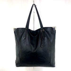 RARE! Coach Black Leather Jose Tote Bag Carryall